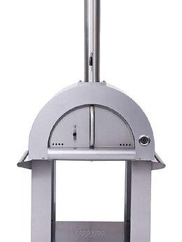 Жарочные и пекарские шкафы - Печь для пиццы дровяная Gastromix HPO01S-1, 0