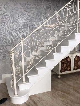 Лестницы и элементы лестниц - Кованые перила, 0