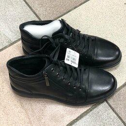 Ботинки - Новые ботинки из натуральной кожи 40 , 0