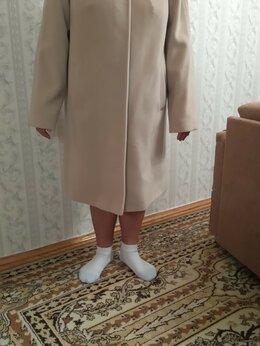 Пальто - Новое элегантное, светлое пальто на весну/осень, 0