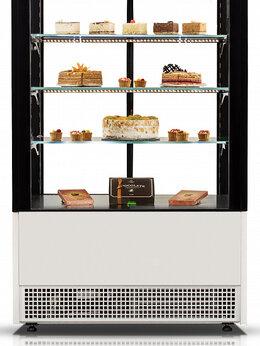 Холодильные витрины - Витрина кондитерская CRYSPI Elegia Quadro K 1250, 0