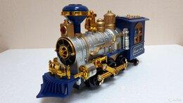 Детские железные дороги - Паровоз на батарейках - новый, 0