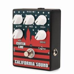 """Процессоры и педали эффектов - Педаль эффектов Caline CP-57 """"California Sound"""" Preamp, 0"""