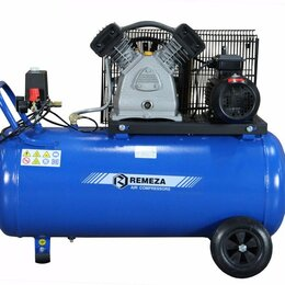 Воздушные компрессоры - Воздушный компрессор Remeza СБ-4/С 100 LB 30A, 0