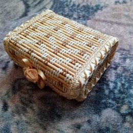 Шкатулки - Шкатулка из бамбука, 0