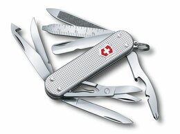 Ножи и мультитулы - Нож-брелок Victorinox MiniChamp, 58 мм, 14…, 0