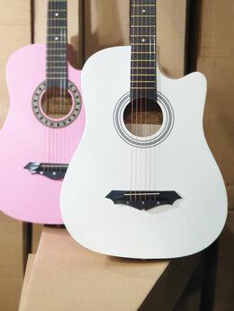 Акустические и классические гитары - Гитара Belucci белая, 0