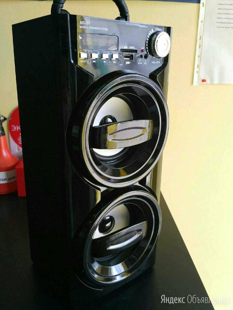 Портативная акустика Music Box MS-37BT  по цене 2090₽ - Портативная акустика, фото 0