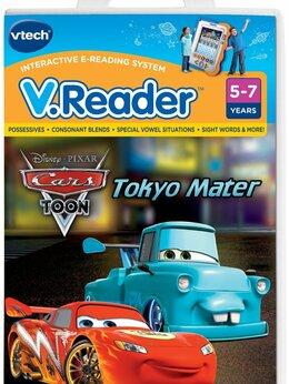 Игры для приставок и ПК - Игра для приставки V.Reader -  Disney's Cars, 0