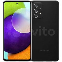 Мобильные телефоны - Samsung Galaxy A52 4/128GB Black, 0