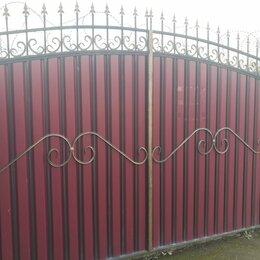 Заборы, ворота и элементы - Ворота/калитки, 0