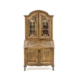 Шкафы, стенки, гарнитуры - Совмещенный кабинет-бюро на подставке с элементами рококо., 0