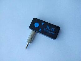 Наушники и Bluetooth-гарнитуры - Блютуз аукс в машину Bluetooth X6 AUX в машину…, 0