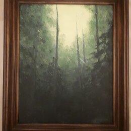 """Картины, постеры, гобелены, панно - Картина маслом """"Лес"""", 0"""