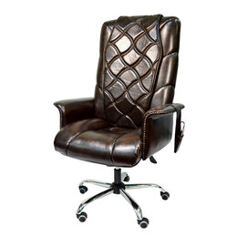 Массажные кресла - Офисное массажное кресло EGO PRIME EG1003 КОФЕ (Арпатек), 0