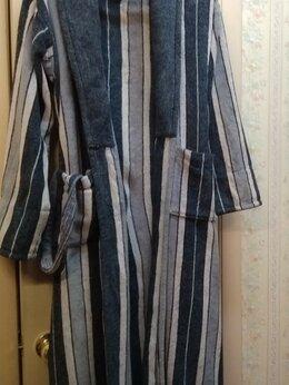 Домашняя одежда - Мужской махровый халат XL-XXL, 52-54-56 р-р, 0