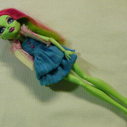 Куклы и пупсы - Кукла Monster High Венера Музыкальный фестиваль, 0