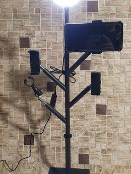 Осветительное оборудование - Кольцевая лампа (Professional Live Stream) 3в1, 0
