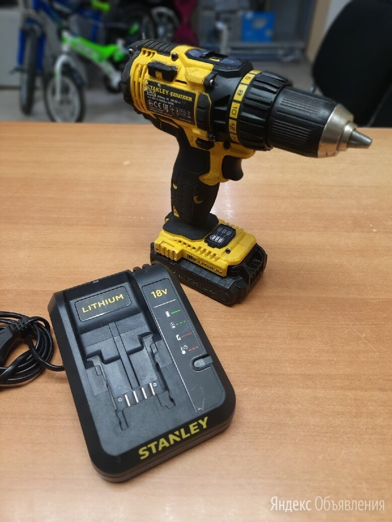 Шуруповёрт Stanley Fatmax 18V по цене 5000₽ - Шуруповерты, фото 0