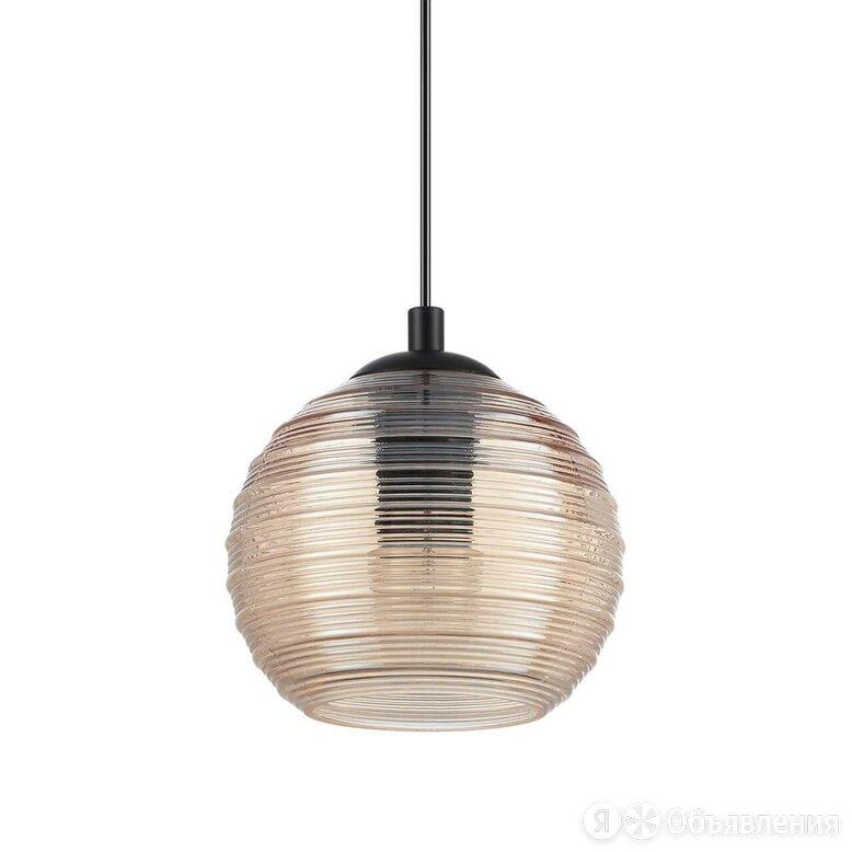 Светильник подвесной со стеклянным плафоном янтарь Riga SP1 Small Ambra 241241 по цене 7650₽ - Настенно-потолочные светильники, фото 0