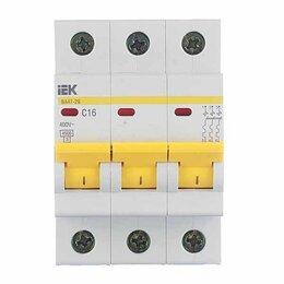 Защитная автоматика - Автоматический выключатель 3Р C 50А IEK ва47-29, 0
