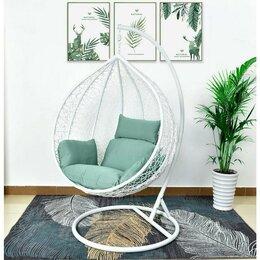 Плетеная мебель - Подвесное кресло AFM-168A-XL WhiteGreen, 0
