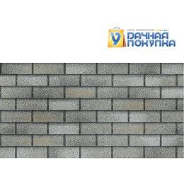 Фасадные панели - Фасадная плитка HAUBERK Кирпич Серо-бежевый, 0