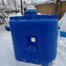 Баки - Бак для воды пластиковый прямоугольно-вертикальный 2000 литров Aquaplast , 0