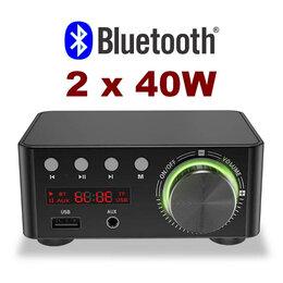 Усилители и ресиверы - Усилитель с Блютуз, USB, mp3 плеером, 0