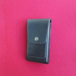 Чехлы - Чехол кобура для телефона ручной работы кожаный , 0