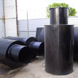 Комплектующие водоснабжения - Кессон стальной, 0