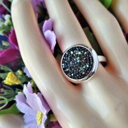 Кольца и перстни - Серебряное кольцо с кристаллами Сваровски, родированое, 0