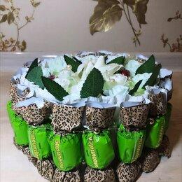 Подарочные наборы - Тортик из конфет 🤎🐆, 0