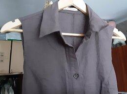Платья - Платье рубашка клеш лен 44 М M Англия винтаж новое, 0