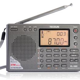 Радиотюнеры - Цифровой портативный приемник Tecsun PL-380 (New), 0