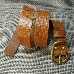 Ремни и пояса - Ремень из натуральной кожи. Ручная работа., 0
