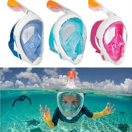 Спортивная защита - Детская подводная полнолицевая маска для плавания, 0