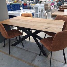 Столы и столики - Деревянный стол ПР-2 ЛОФТ, 0