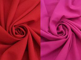 Рукоделие, поделки и товары для них - Ткань габардин красный, фуксия, бордовый, 0