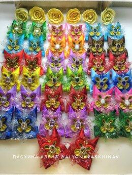 Украшения для девочек - Бантики для волос «Бабочки», 0