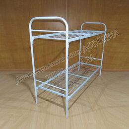 Кровати - Кровать металлическая двухъярусная, 0