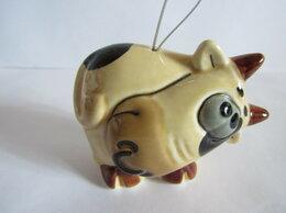 Статуэтки и фигурки - Бычок елочная игрушка авторская керамика Вербилки, 0