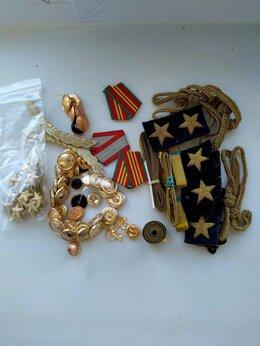 Военные вещи - Комплект аксессуаров для формы офицера ВМФ СССР , 0