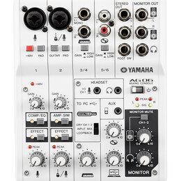 Микшерные пульты - Yamaha AG06 Микшерный пульт , 0