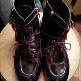 Ботинки - Ботинки лаковые р.36, 0