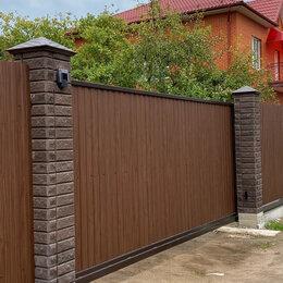 Заборы, ворота и элементы - Ворота откатные (сдвижные), 0