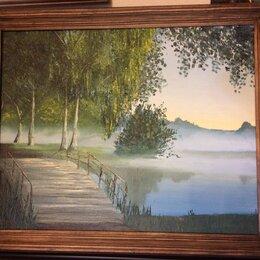 """Картины, постеры, гобелены, панно - Картина маслом """"Туман"""", 0"""