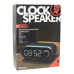 Портативная акустика - Remax RB-M26 (колонка, будильник,часы,радио ), 0