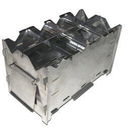 Туристические горелки и плитки - Мини-печь щепочница на 2 котелка, 0