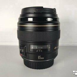 Объективы - Canon EF 85mm 1.8 USM (A189), 0